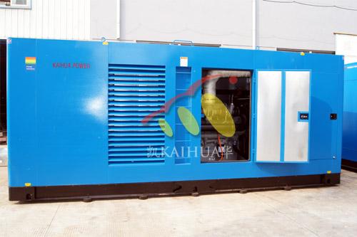 500KW珀金斯静音柴油发电机