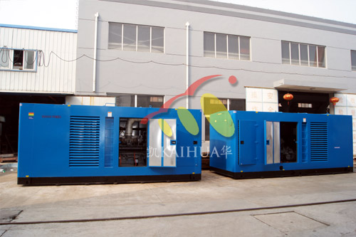 500KW珀金斯保温型静音柴油发电机
